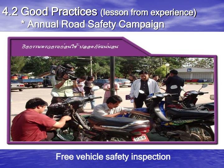 4.2 Good Practices
