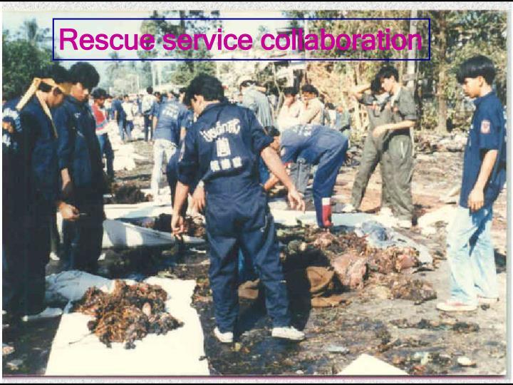 Rescue service collaboration