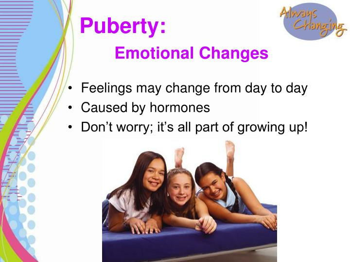 Feelings may change from day to day
