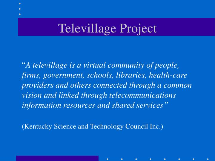 Televillage Project