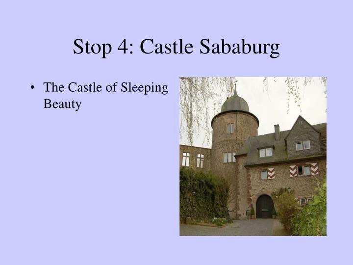 Stop 4: Castle Sababurg