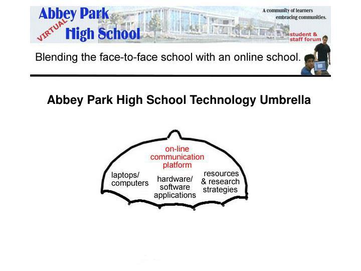 Abbey Park High School Technology Umbrella