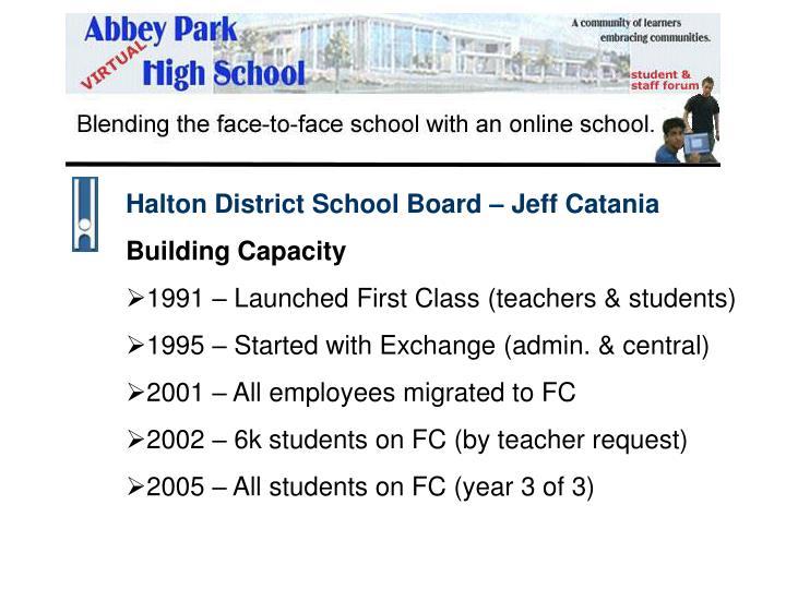 Halton District School Board – Jeff Catania