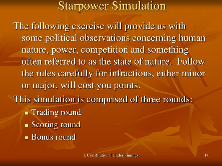 Starpower Simulation
