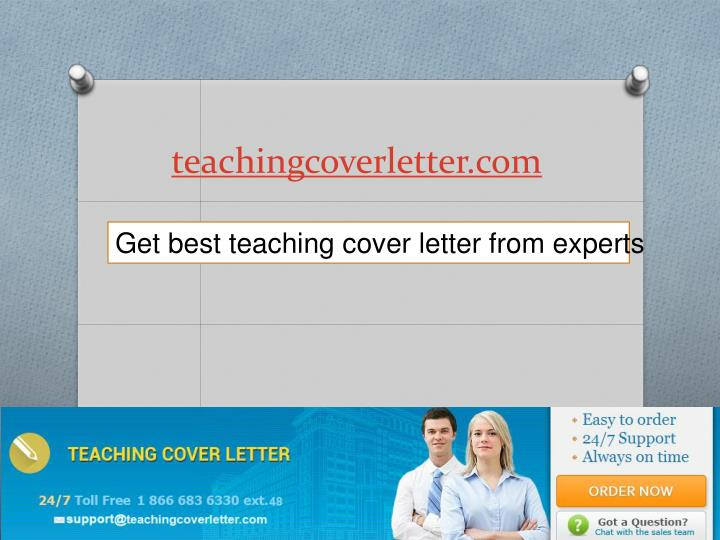 teachingcoverletter com