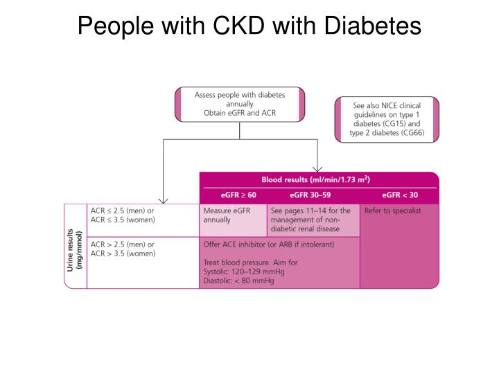 People with CKD with Diabetes