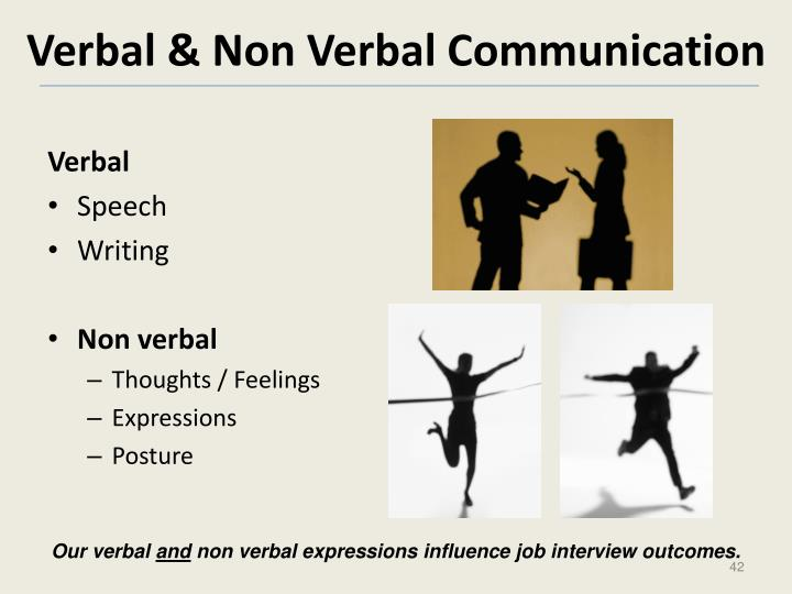 Verbal & Non Verbal Communication