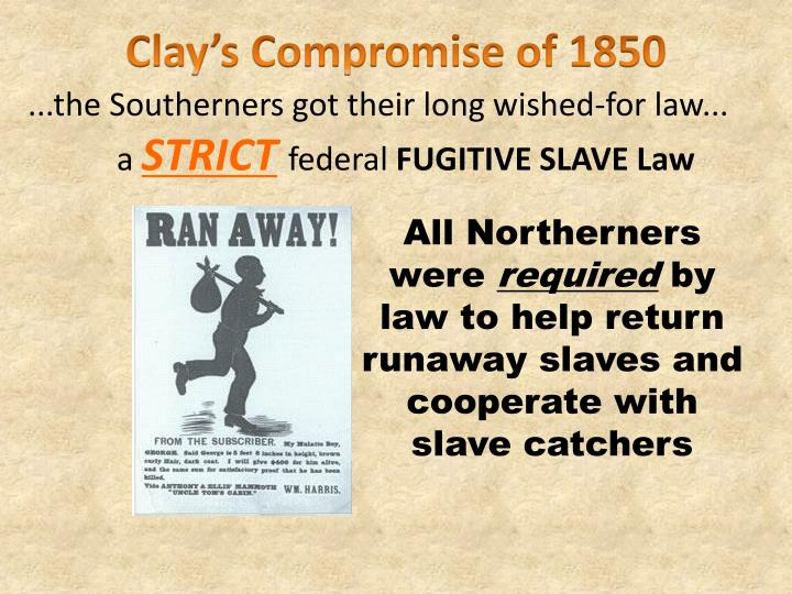 Clay's Compromise of 1850