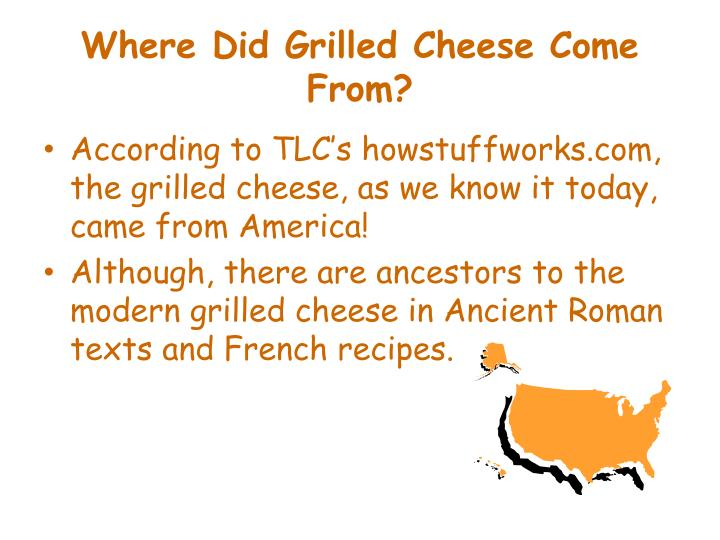Where Did Grilled Cheese Come From?