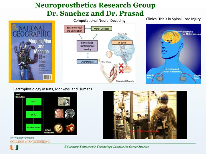 Neuroprosthetics Research Group