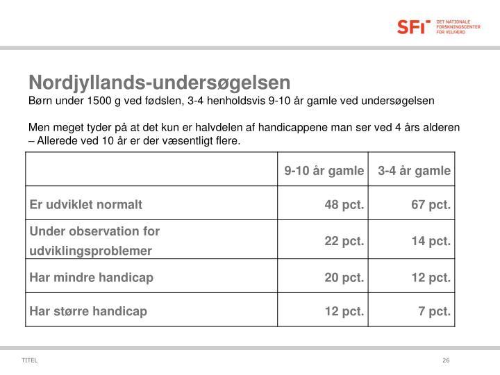 Nordjyllands-undersøgelsen