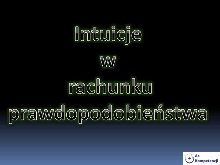 Intuicje