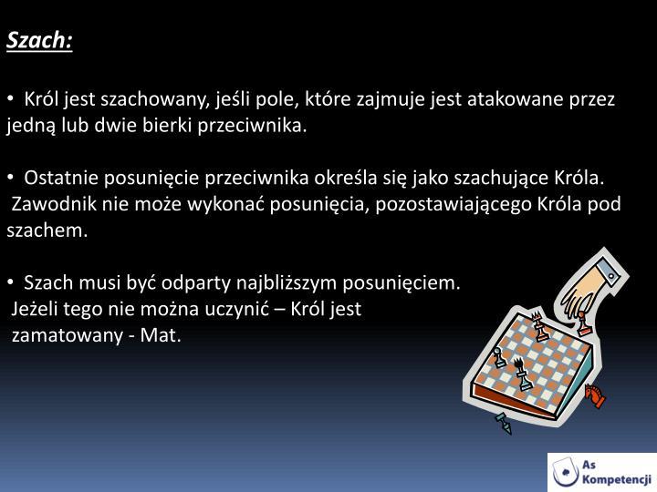 Szach: