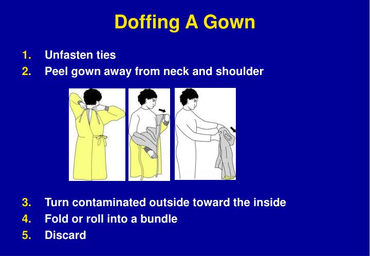 Doffing A Gown