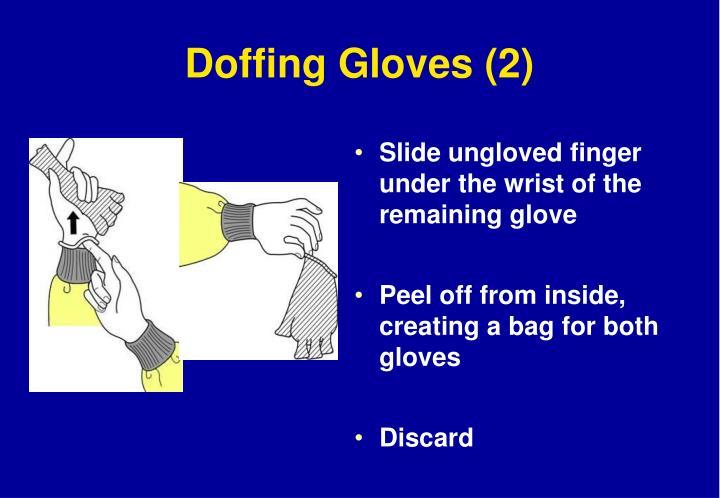 Doffing Gloves (2)