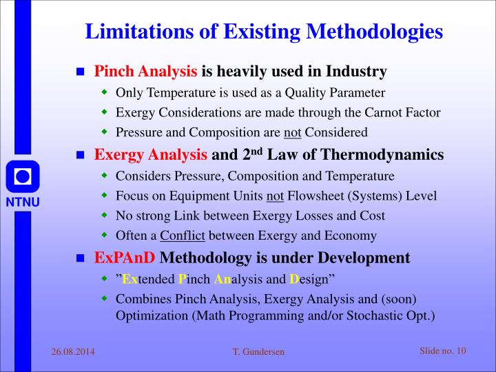 Limitations of Existing Methodologies