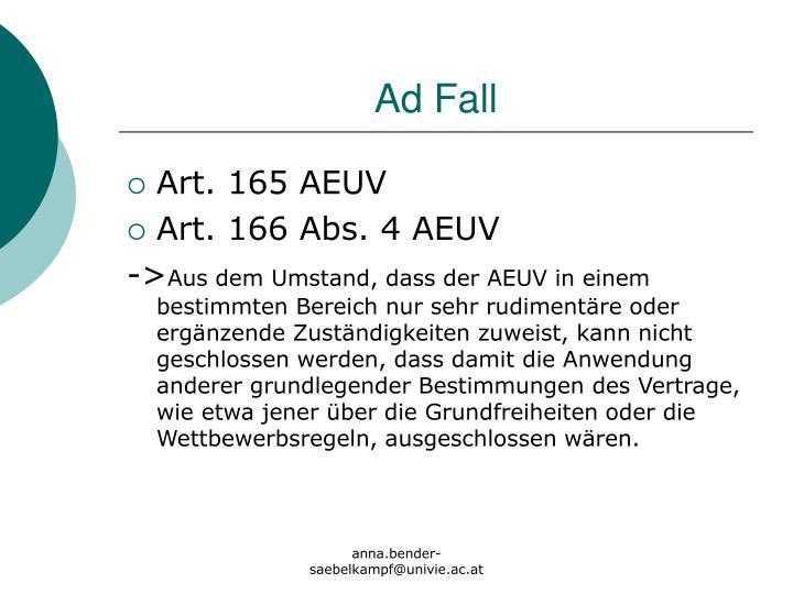 Ad Fall