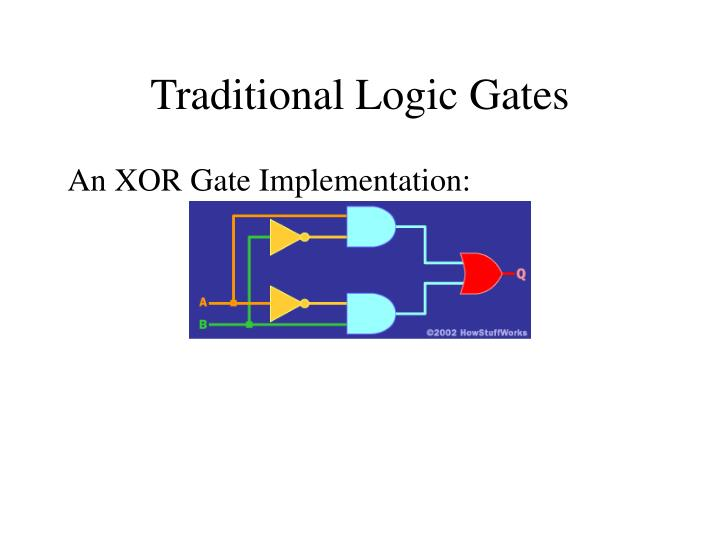 Traditional Logic Gates