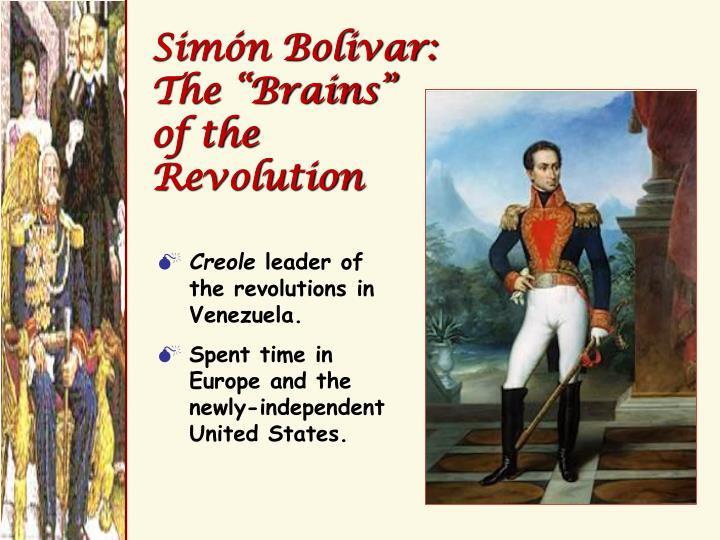 Simón Bolivar: