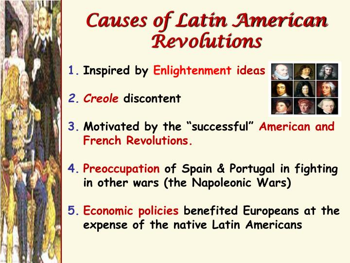 Causes of Latin American