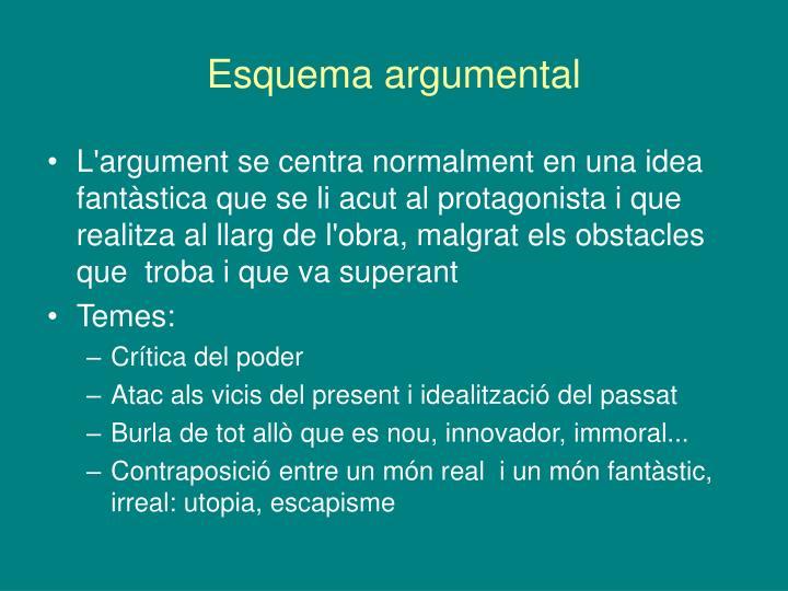 Esquema argumental