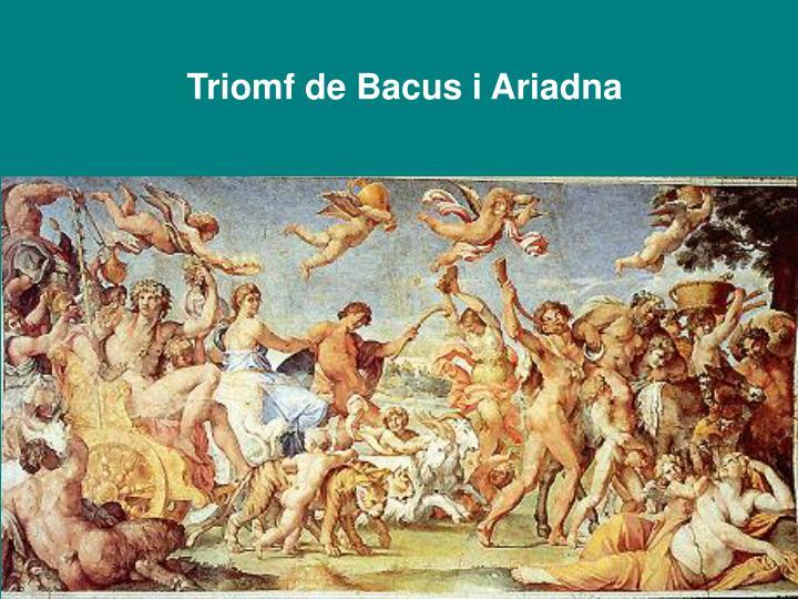 Triomf de Bacus i Ariadna