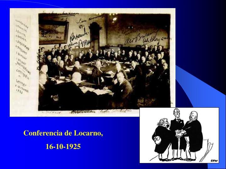 Conferencia de Locarno,