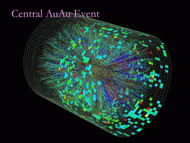 Central AuAu Event