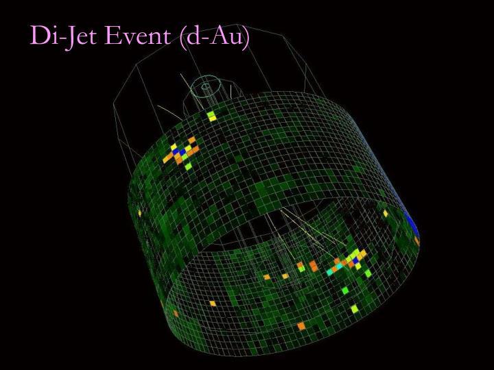 Di-Jet Event (d-Au)