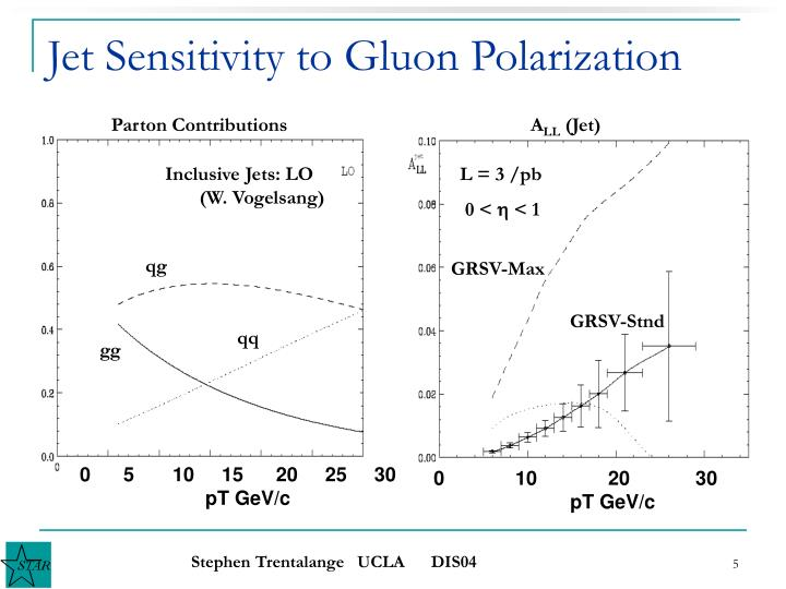 Jet Sensitivity to Gluon Polarization