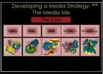 developing a media strategy the media mix