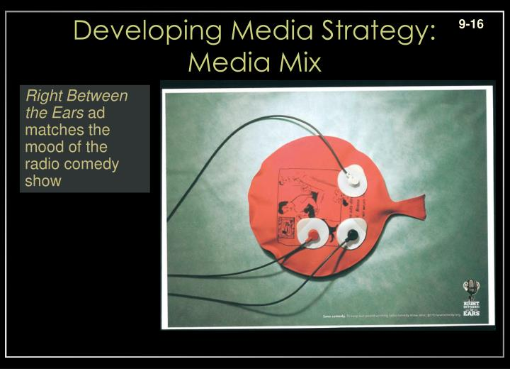 Developing Media Strategy: