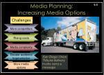 media planning increasing media options