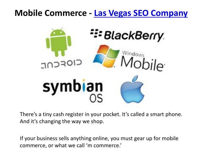Mobile Commerce -