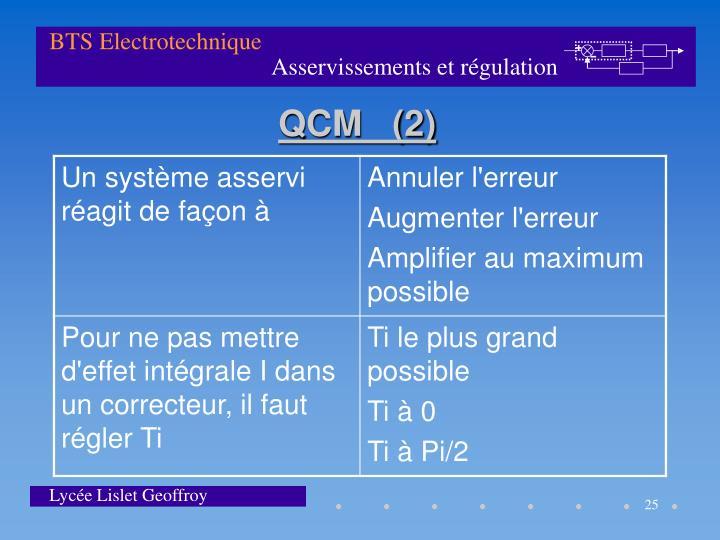 QCM   (2)
