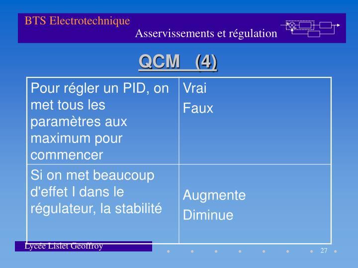 QCM   (4)