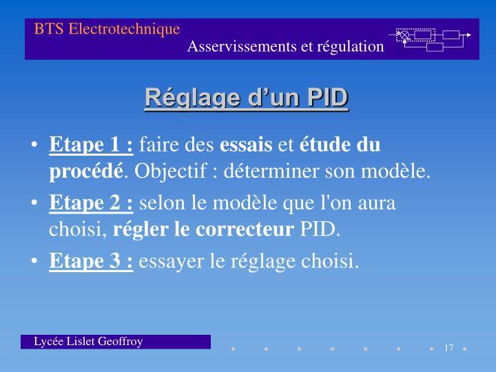 Etape 1 :