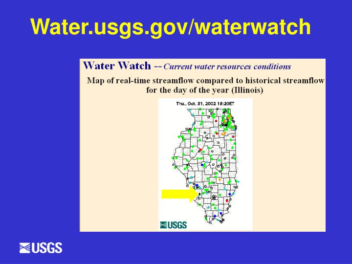 Water.usgs.gov/waterwatch