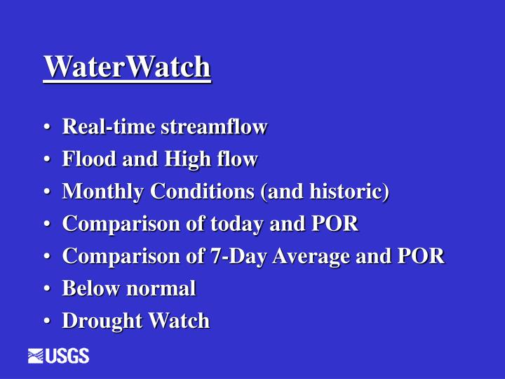 WaterWatch