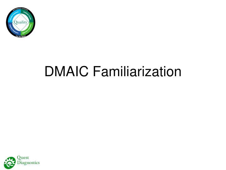 DMAIC Familiarization
