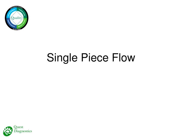 Single Piece Flow