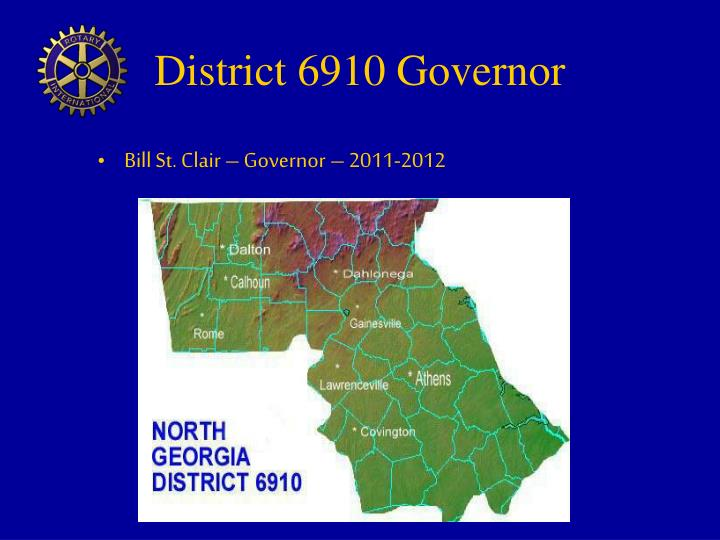 District 6910 Governor