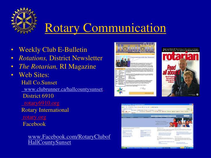 Rotary Communication