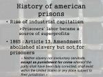 history of american prisons1