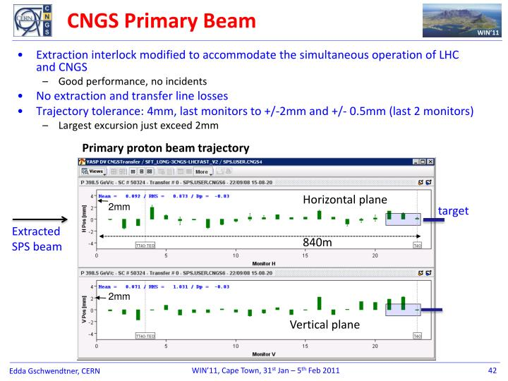 CNGS Primary Beam