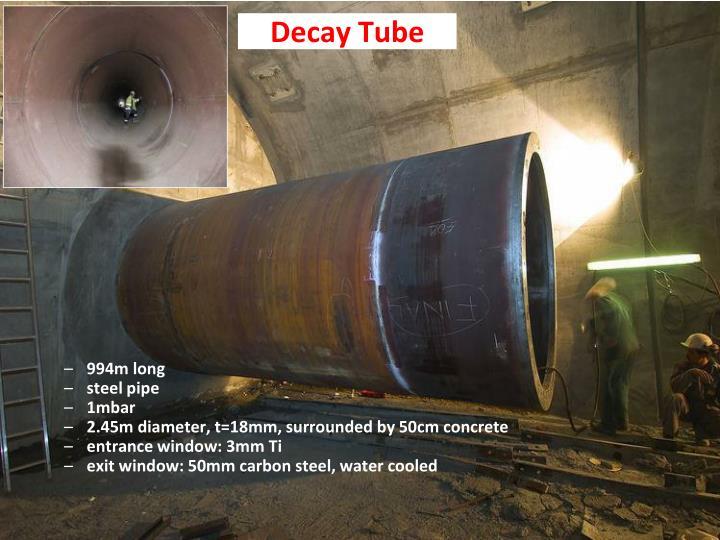 Decay Tube