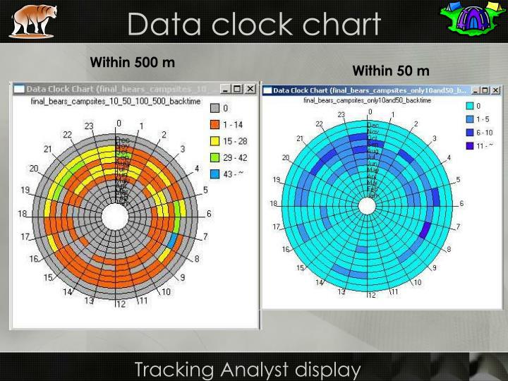Data clock chart