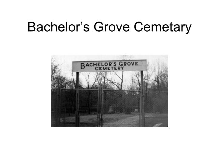 Bachelor's Grove Cemetary