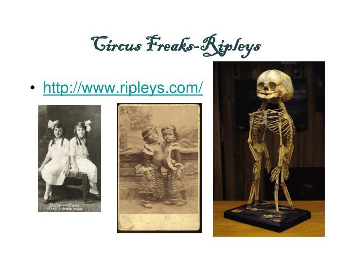 Circus Freaks-