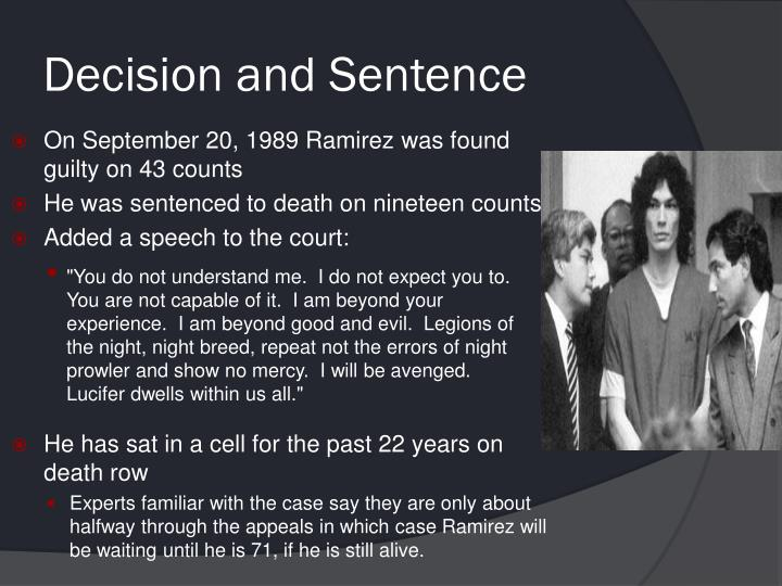 Decision and Sentence